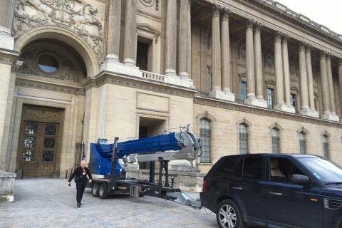 Intervention au Louvre